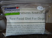 Get your free sample of Dog Nutrition Naturally Raw Food Diet For Dogs